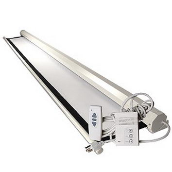 پرده نمایش سقفی دیواری برقی رفلکتا 200x200 cm