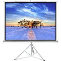 قیمت پرده نمایش ویدئو پروژکتور پایه دار اسکوپ 180x180